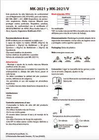 Normativa mascarillas MK-2021 Essax