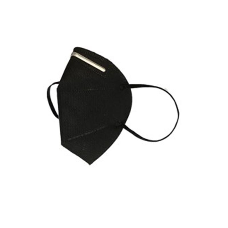 Mascarilla higiénica reutilizable negra