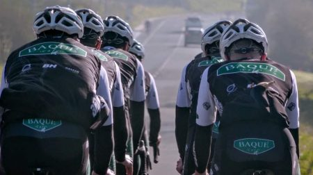 Essax,con el Baqué Cycling Team en 2021